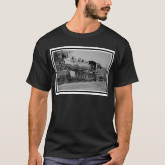 Camiseta Tren del motor de vapor del ferrocarril del