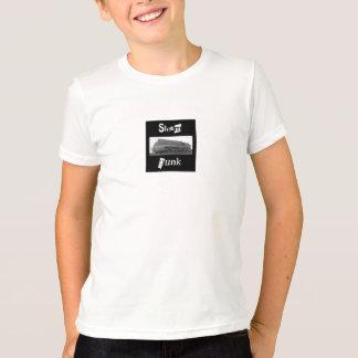 Camiseta tren del steampunk