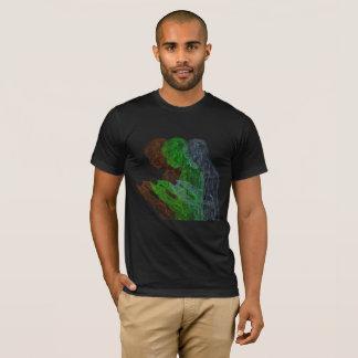 Camiseta Tríada americana del rezo (negro sin, g, b)