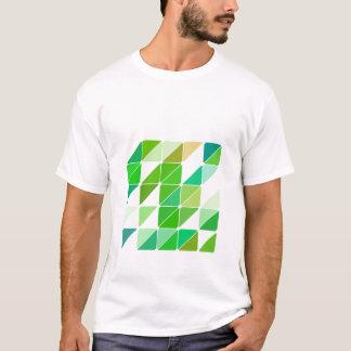 Camiseta Triángulos verdes