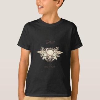 Camiseta Tribal Del Sol - cráneo híbrido