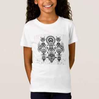 Camiseta Tribal indio nativo antiguo abstracto