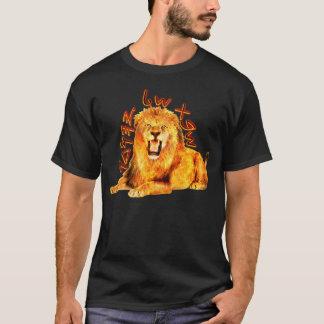 Camiseta Tribu del león ardiente de Judah