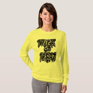 Camiseta trickXtreat Halloween