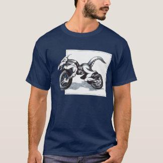 Camiseta Trike draconiano biomecánico