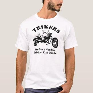 Camiseta Trikers no necesitamos soportes del retroceso de