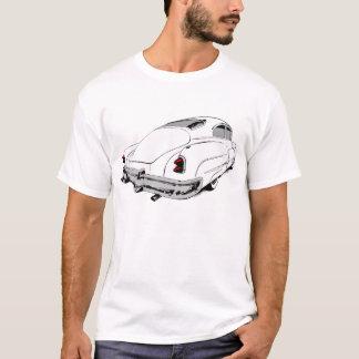 Camiseta Trineo 1950 de la ventaja de Buick en blanco con