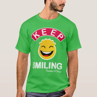 Camiseta Trinidad and Tobago guardan smiley sonriente