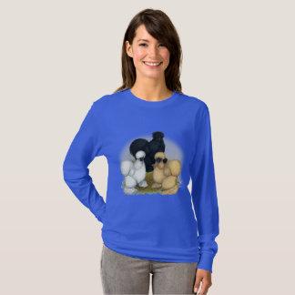 Camiseta Trío de Silkie