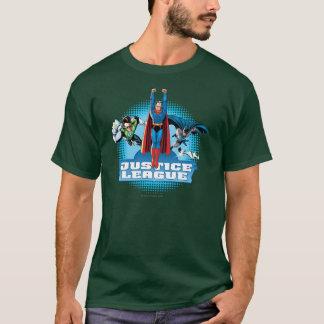Camiseta Trío del poder de la liga de justicia