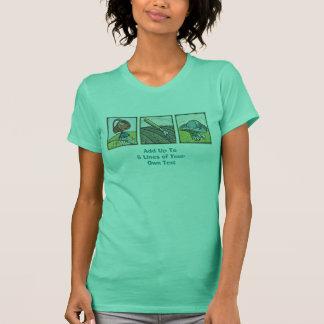 Camiseta Trío que cultiva un huerto