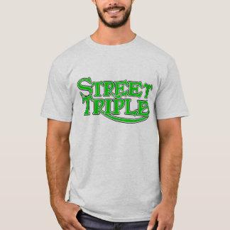 Camiseta triple de la calle