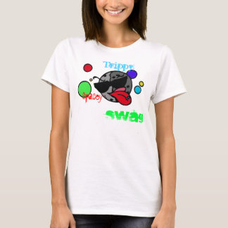 Camiseta Trippy del chica del swag del spacey
