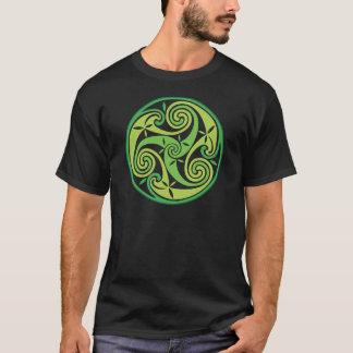 Camiseta Triskel verde