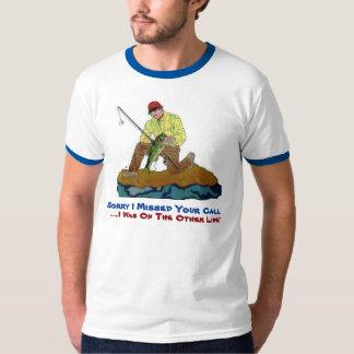 Camiseta Triste falté su llamada