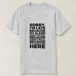 Camiseta Triste soy atrasado