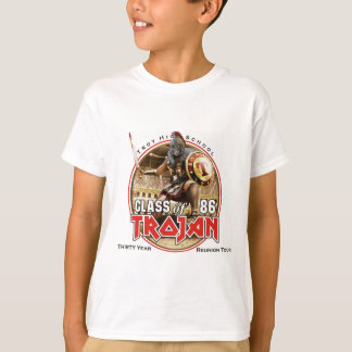 Camiseta Trojan del concierto del hierro (blanco o