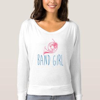 Camiseta Trompa del chica de la banda