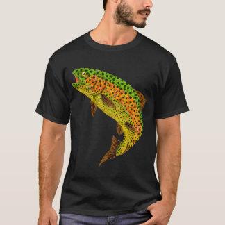 Camiseta Trucha arco iris 1 de la hoja de Aspen