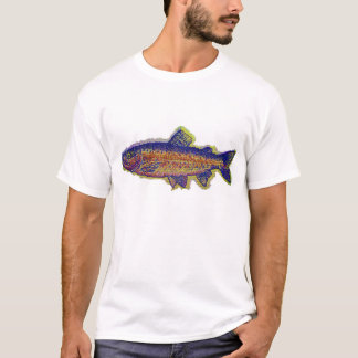 Camiseta trucha de la tapicería