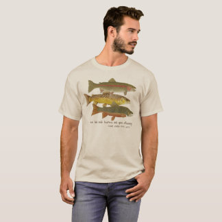 Camiseta TRUCHA y ropa de la pesca con mosca