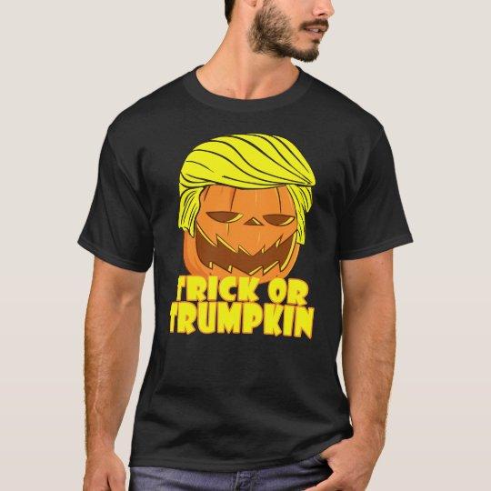 Camiseta Truco divertido o Trumpkin T-Shirt.png de Donald