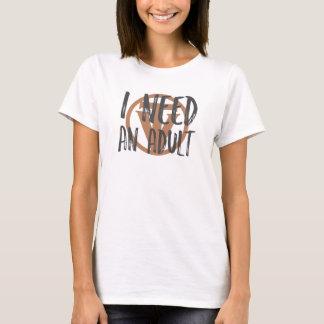 Camiseta TrueVanguard - necesito a un adulto - luz para