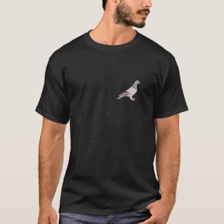 Camiseta Tshirt con azul rodado