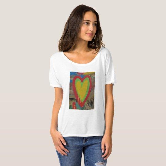 Camiseta Tshirt, corazón urbano