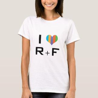 Camiseta Tshirt I Love R+F