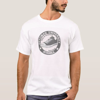 Camiseta Tshirt logotipo otomano university of Estambul