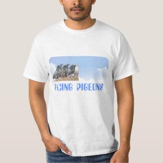Camiseta Tshirt Palomas sobre el tejado