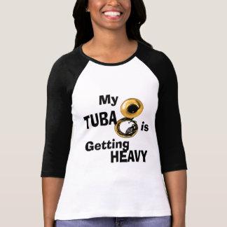 Camiseta Tuba pesada