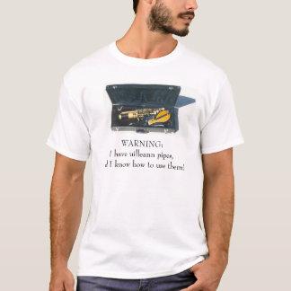 Camiseta Tubos de Uilleann