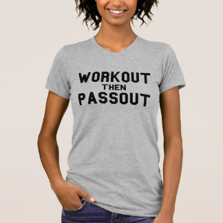 Camiseta Tumblr de Passout del entrenamiento