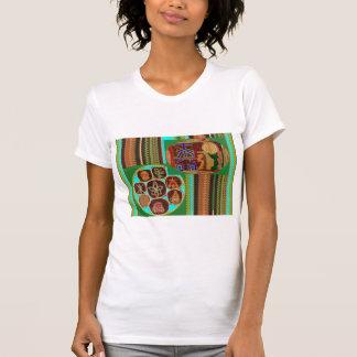 Camiseta Túnel cósmico de Chakra del símbolo curativo de