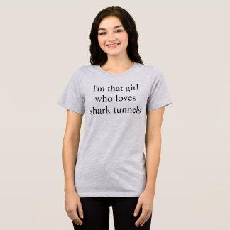 Camiseta túneles del tiburón