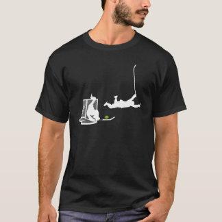 Camiseta TwinBeer - la meta del salto (oscura)