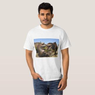 Camiseta Tyrannosaurs en duelo