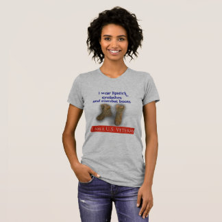 Camiseta U.S. veterinario de sexo femenino