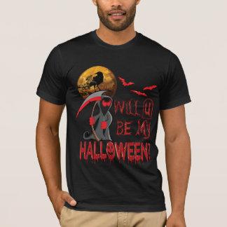 Camiseta ¿U será mi Halloween?