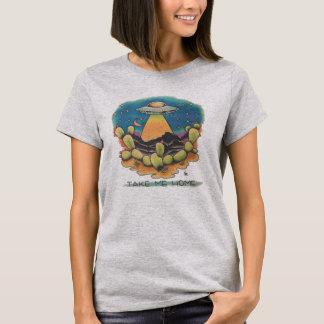 Camiseta UFO - Tómeme casero