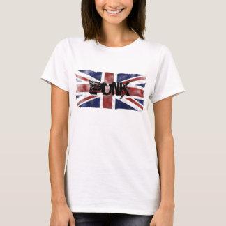 Camiseta UKFlag/camiseta punky