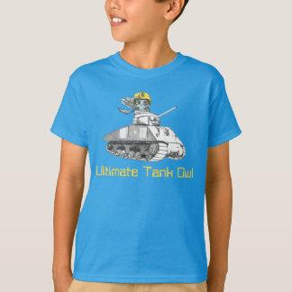 Camiseta Último búho del tanque