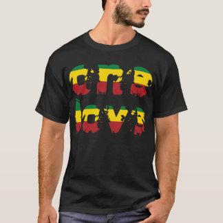 Camiseta Un amor - NEGRO