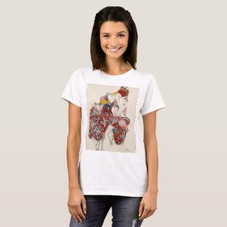 Camiseta Un atuendo del bailarín del invierno por completo…