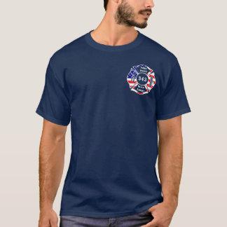 Camiseta Un bombero 9/11 nunca olvida 343