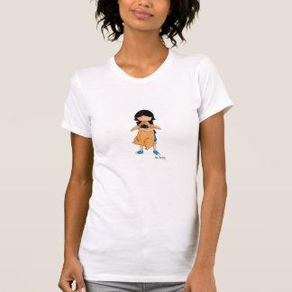 Camiseta Un chica y su barro amasado (frente y parte