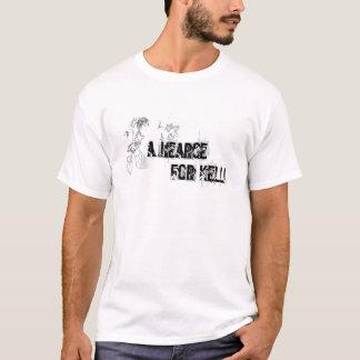 Camiseta un coche fúnebre para el kelli T blanco    …
