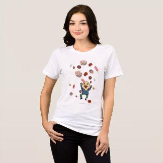 Camiseta Un deseo: Conchas, dulces, paletas